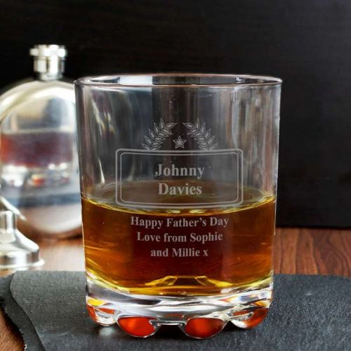 Personalised Luxury Whisky Glass
